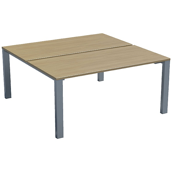 Sven X-Range Rectangular Leg Bench Rectangular Double Sided Desk
