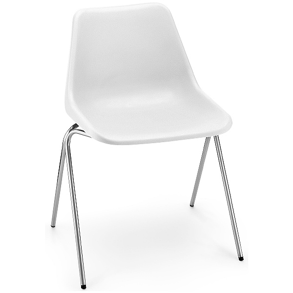Robin Day Polyside Chair White