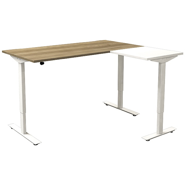 Accolade Lite Sit-Stand Radial Desks