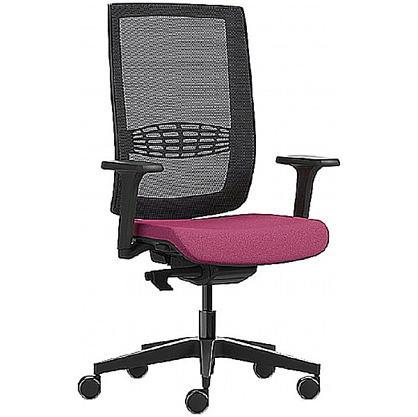 Kind Mesh Back Chair With Height Adjustable Arms