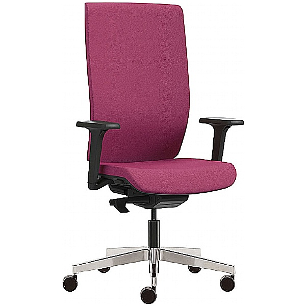 Kind Full Back Chair With Height Adjustable Arms