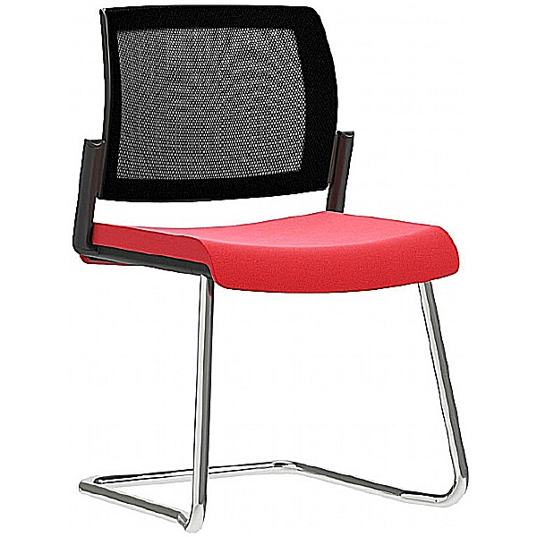 Pledge Kind Mesh Back Cantilever Meeting Chair