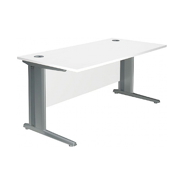 Polar Cantilever Rectangular Systems Desks