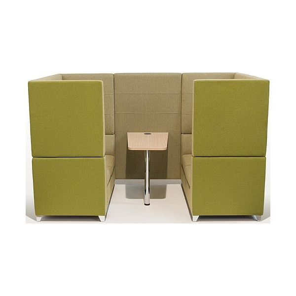 Sven X-Range High Back Booths With Table