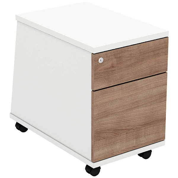 Parity Low Mobile Pedestal 2 Drawer