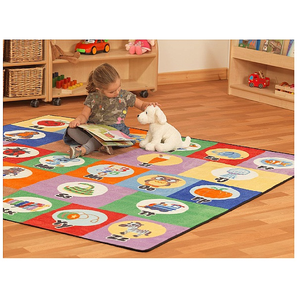 PlayScapes Alphabet Rug