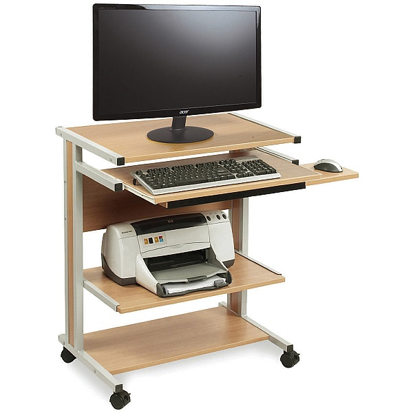 Height Adjustable Compact Workstation