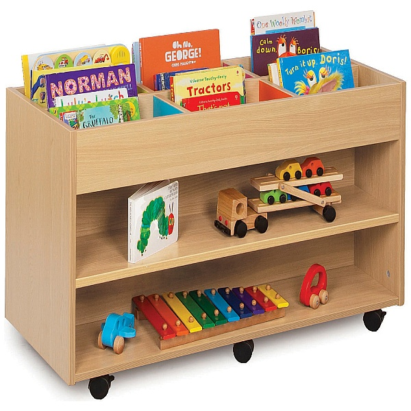 Bubblegum Kinderbox With Double Sided 6 Bay Storage