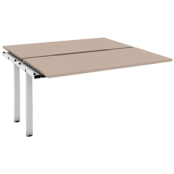 Unity Back to Back 2 Person Extension Bench Desks