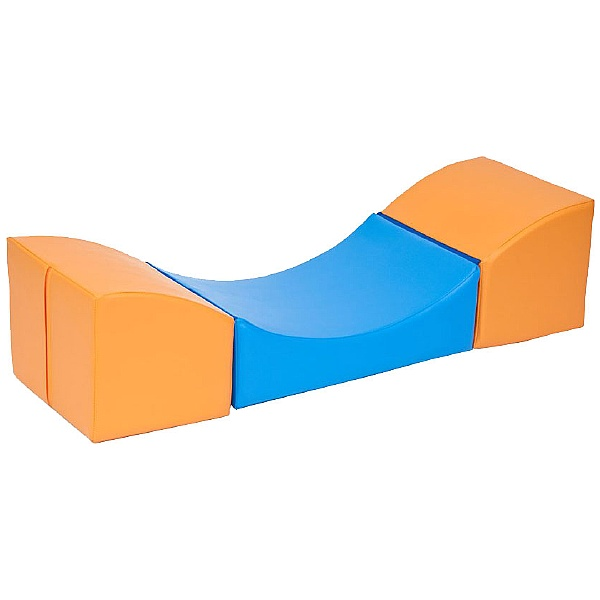 PlayScapes Folding Soft Wave Bench