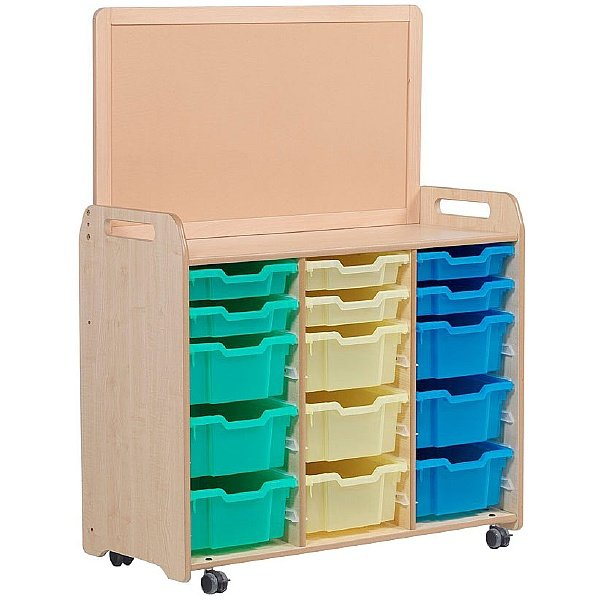PlayScapes Tray Storage Unit With Display Divider