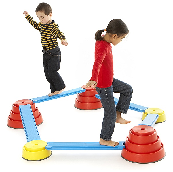 Gonge Build N' Balance Course - Intermediate Set