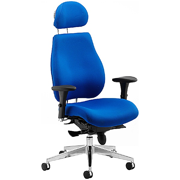 Vital 24Hr Ergonomic Chair With Headrest