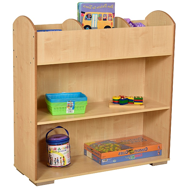 Maple Bookcase and Browser