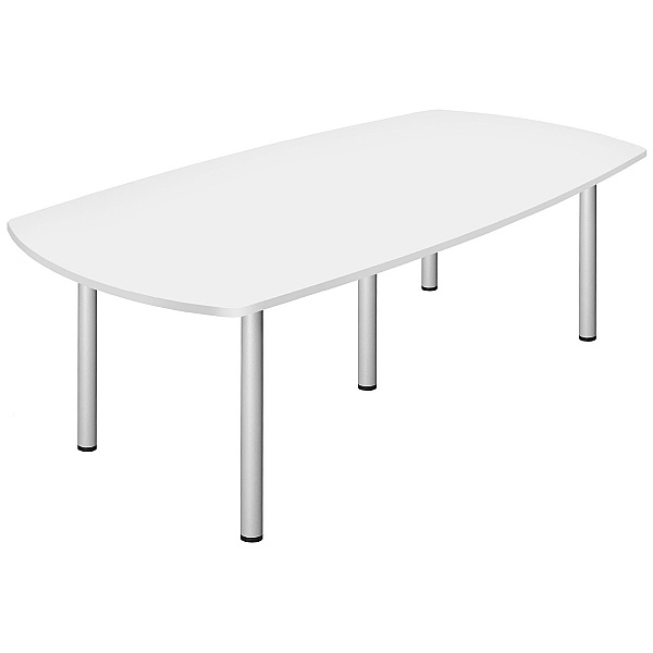 Commerce II White Boardroom Table