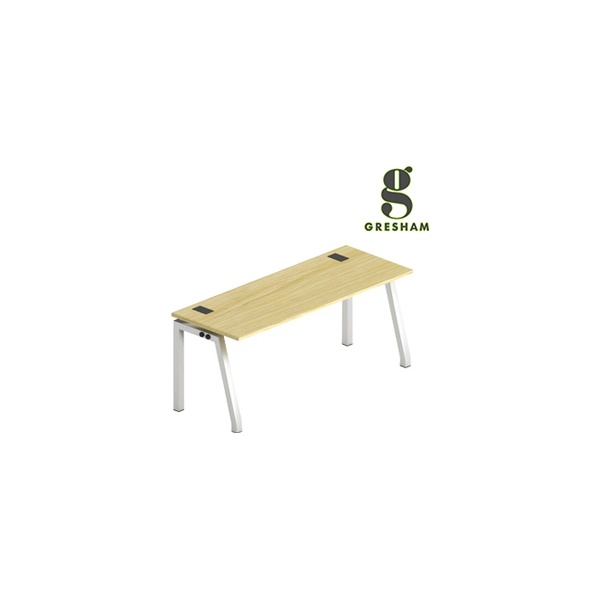 Bench² Fixed Top Rectangular Starter Desk Angled L