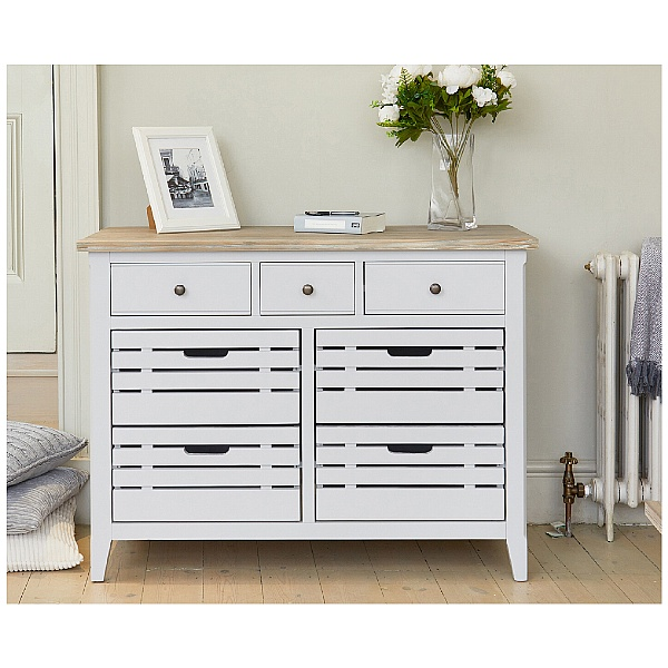 Autograph Solid Wood Small Sideboard With Drawers