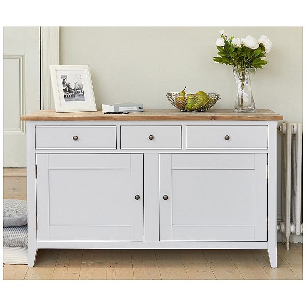 Autograph Solid Wood Large Sideboard
