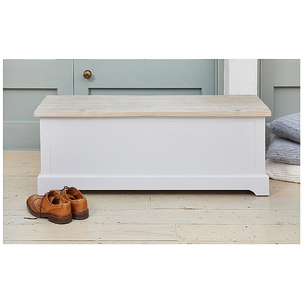 Autograph Solid Wood Hallway Storage Bench