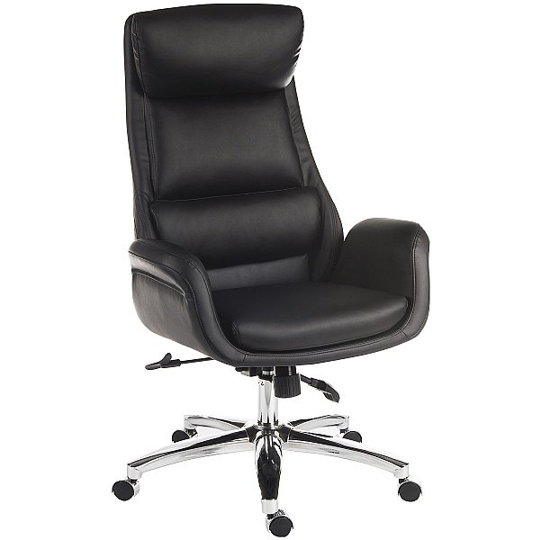 Ambassador Leather Look Executive Chair