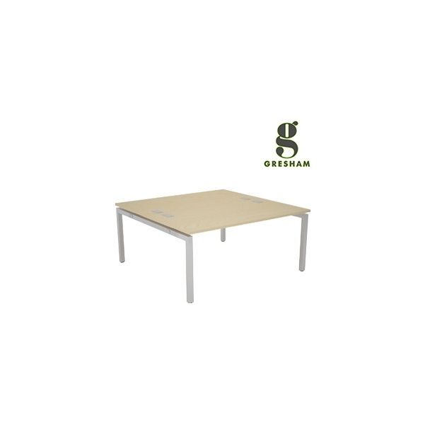 Gresham Bench² Straight Leg Fixed Top Back To Back Rectangular Starter Desks