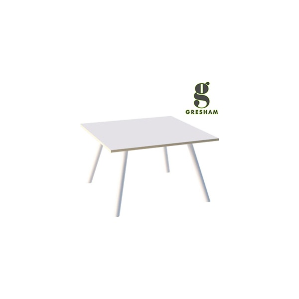 Gresham Moment Square Steel Leg Meeting Tables