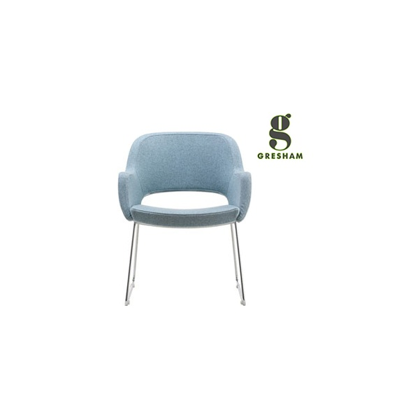 Gresham Motile Task Skid Base Chairs