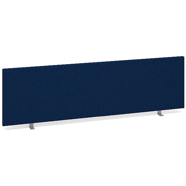 Decor Straight Desk Screens Blue