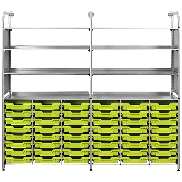 Gratnells Callero 48 Shallow Tray Combination Storage Unit