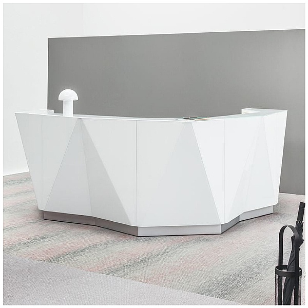 Gallery Angled Reception Desk