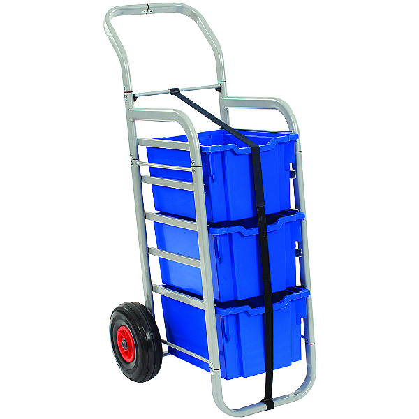 Gratnells Rover All-Terrain Trolley With Extra Deep Trays