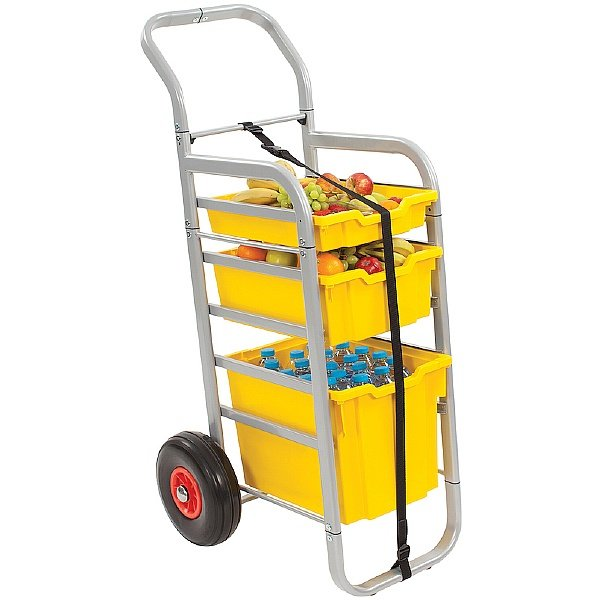 Gratnells Rover All-Terrain Trolley With Mixed Trays