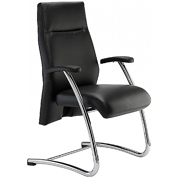 Summit Essence Leather Visitor Chair