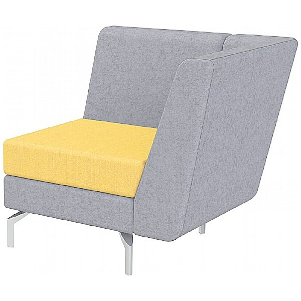 Summit Lilo Single Modular Reception Seat With Left Arm