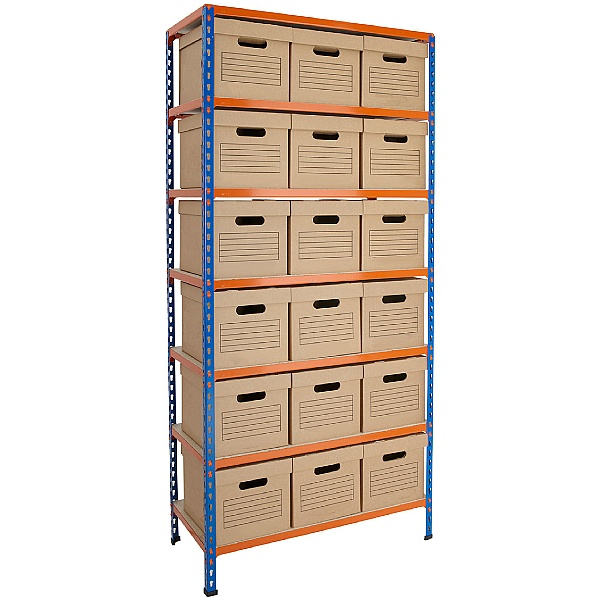 BiG340 Document Storage Shelving With Standard Box