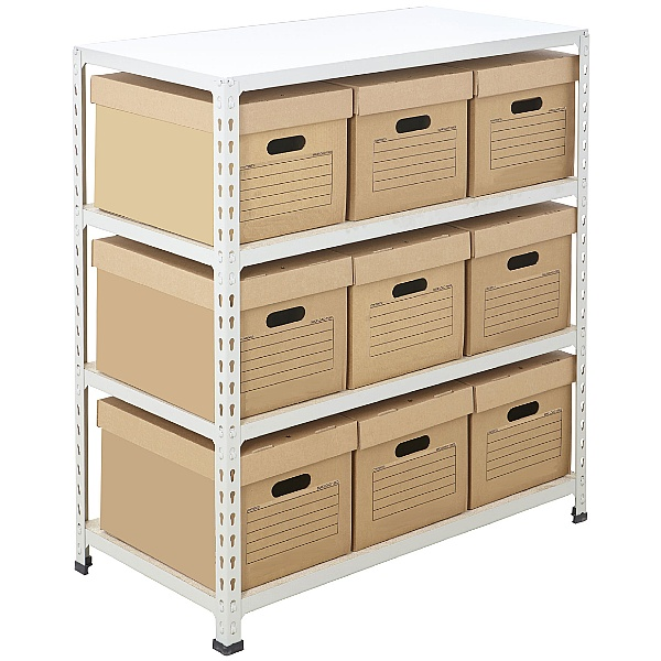 BiG340 Compact Document Storage Shelving With Valu