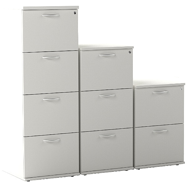 Vogue Essential White Filing Cabinets
