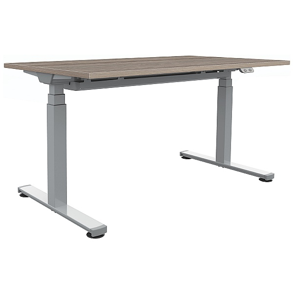 Commerce II Sit-Stand Rectangular Desk