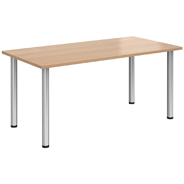 NEXT DAY Unite II Rectangular Tubular Leg Tables