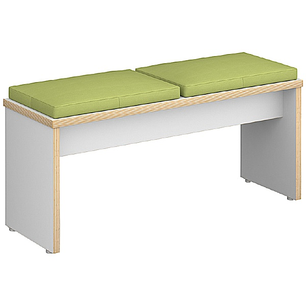 Cortese Upholstered Dining Bench Seat - 2 Seater