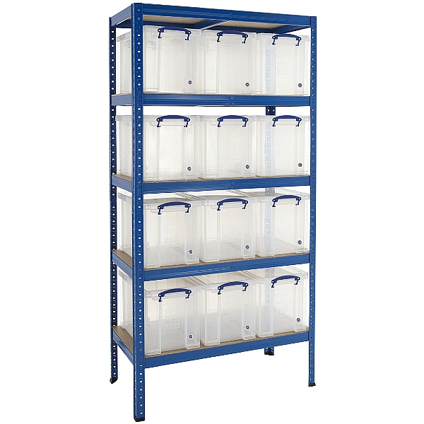Value Storage Bay With 12x 24 Litre Really Useful