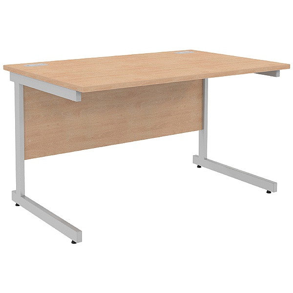 NEXT DAY Solar Rectangular Cantilever Desks