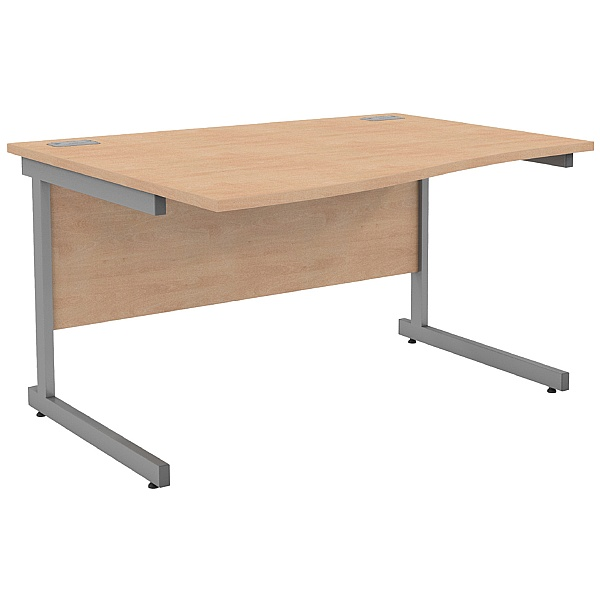 NEXT DAY Solar Wave Cantilever Desks