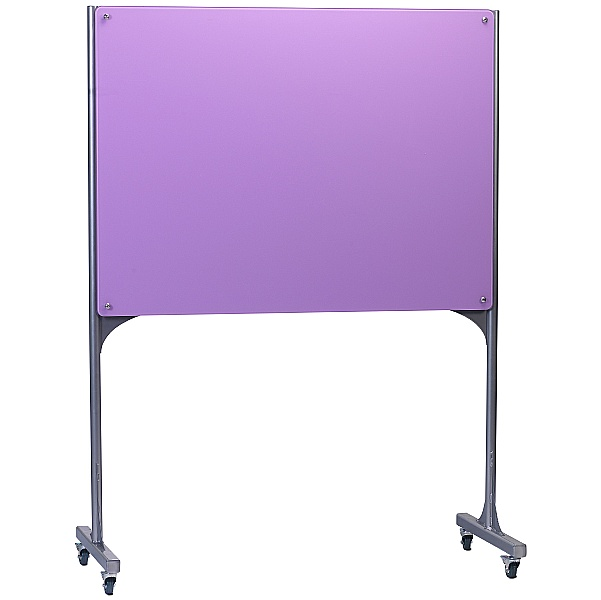 Mobile Magnetic Glass Writing Board - Landscape