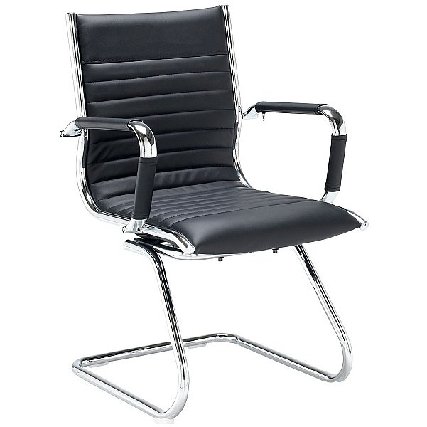 Bari Leather Visitor Chair