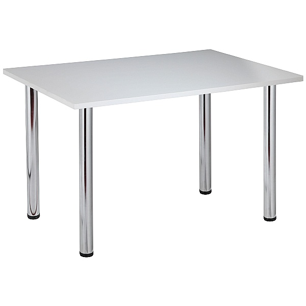 NEXT DAY Karbon Tubular Leg Rectangular Office Tables