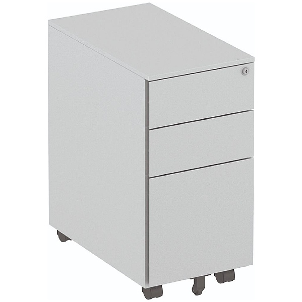 Elite Steel Narrow Mobile Pedestals