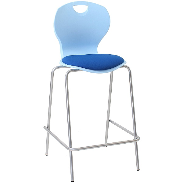 Classroom Stools With Upholstered Seat