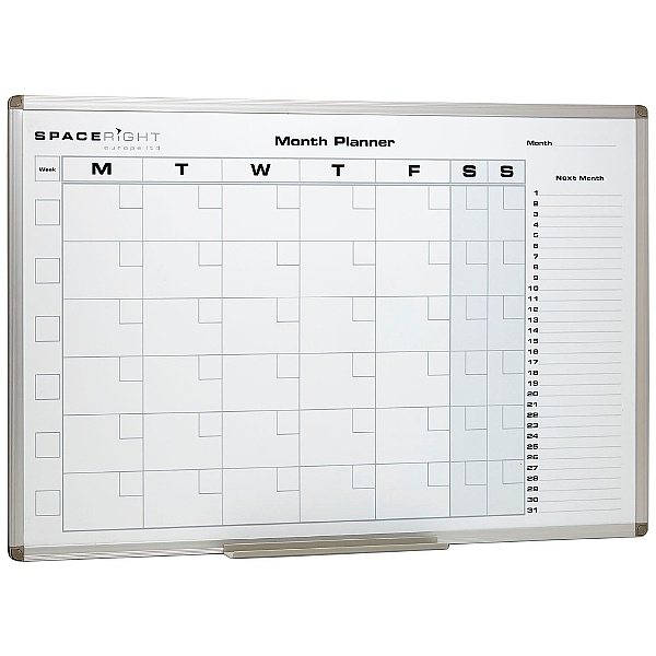 Magnetic Dry Wipe Monthly Planner
