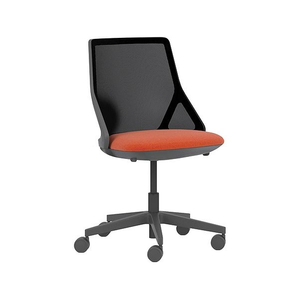 Pledge Cicero Medium Back Black Task Chair